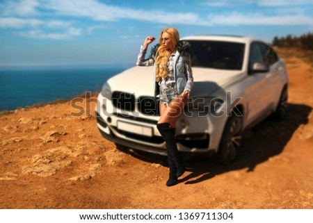 Girl, sexually, sexy, woman, female, auto, automobile, bmw, automobile, model, sexy, blonde, nature, fashion, style, relax, mood, emotions,  #1369711304