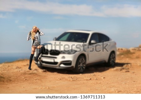 Girl, sexually, sexy, woman, female, auto, automobile, bmw, automobile, model, sexy, blonde, nature, fashion, style, relax, mood, emotions,  #1369711313