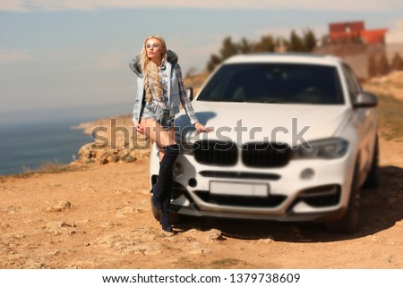 Girl, sexually, sexy, woman, female, auto, automobile, bmw, automobile, model, sexy, blonde, nature, fashion, style, relax, mood, emotions,  #1379738609