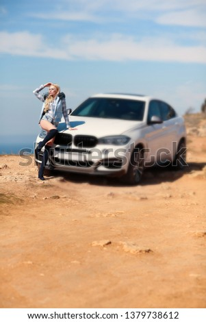 Girl, sexually, sexy, woman, female, auto, automobile, bmw, automobile, model, sexy, blonde, nature, fashion, style, relax, mood, emotions,  #1379738612