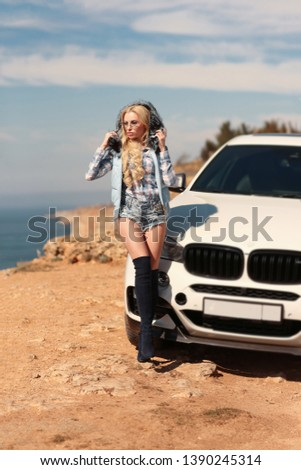 Girl, sexually, sexy, woman, female, auto, automobile, bmw, automobile, model, sexy, blonde, nature, fashion, style, relax, mood, emotions,  #1390245314