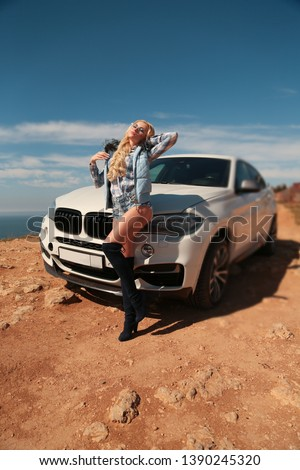 Girl, sexually, sexy, woman, female, auto, automobile, bmw, automobile, model, sexy, blonde, nature, fashion, style, relax, mood, emotions,  #1390245320