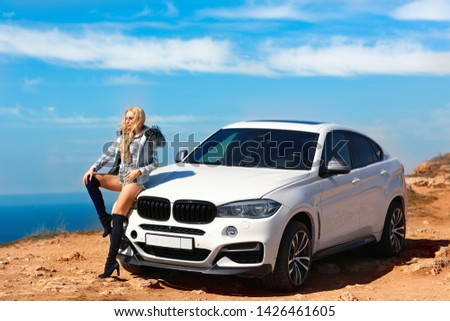 Girl, sexually, sexy, woman, female, auto, automobile, bmw, automobile, model, sexy, blonde, nature, fashion, style, relax, mood, emotions,  #1426461605