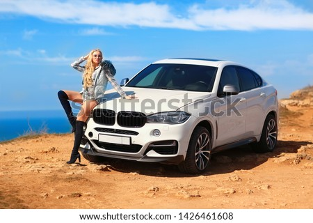 Girl, sexually, sexy, woman, female, auto, automobile, bmw, automobile, model, sexy, blonde, nature, fashion, style, relax, mood, emotions,  #1426461608