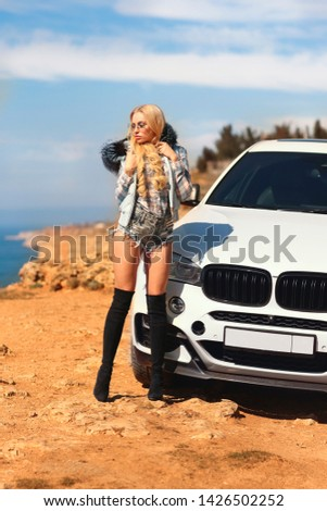 Girl, sexually, sexy, woman, female, auto, automobile, bmw, automobile, model, sexy, blonde, nature, fashion, style, relax, mood, emotions,  #1426502252