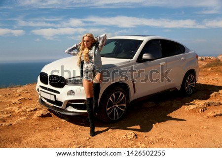 Girl, sexually, sexy, woman, female, auto, automobile, bmw, automobile, model, sexy, blonde, nature, fashion, style, relax, mood, emotions,  #1426502255