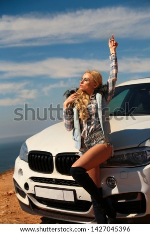 Girl, sexually, sexy, woman, female, auto, automobile, bmw, automobile, model, sexy, blonde, nature, fashion, style, relax, mood, emotions,  #1427045396