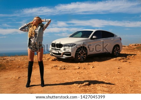 Girl, sexually, sexy, woman, female, auto, automobile, bmw, automobile, model, sexy, blonde, nature, fashion, style, relax, mood, emotions,  #1427045399