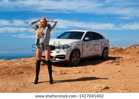 Girl, sexually, sexy, woman, female, auto, automobile, bmw, automobile, model, sexy, blonde, nature, fashion, style, relax, mood, emotions,  #1427045402