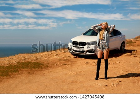 Girl, sexually, sexy, woman, female, auto, automobile, bmw, automobile, model, sexy, blonde, nature, fashion, style, relax, mood, emotions,  #1427045408