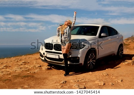 Girl, sexually, sexy, woman, female, auto, automobile, bmw, automobile, model, sexy, blonde, nature, fashion, style, relax, mood, emotions,  #1427045414