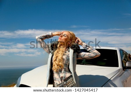 Girl, sexually, sexy, woman, female, auto, automobile, bmw, automobile, model, sexy, blonde, nature, fashion, style, relax, mood, emotions,  #1427045417