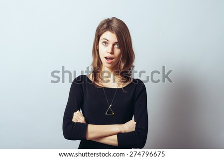 girl surprised
