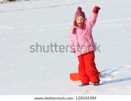 girl - winter games