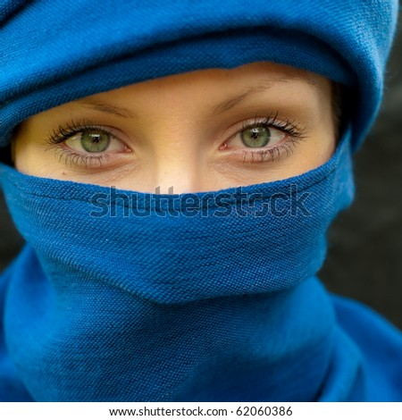 Girl with scarf - Arab girl