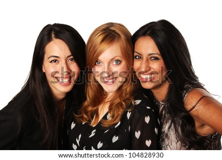 Girlfriends- Diverse Group of Girls Together