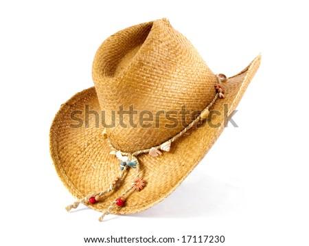 Girls Cowboy Hat - stock photo