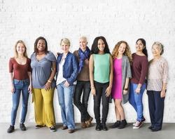 Girls Friendship Togetherness Community Concept
