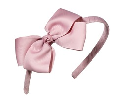 girls hair band in pink