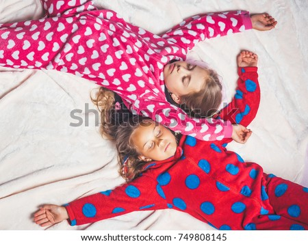 little girls sleepover images