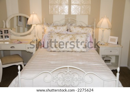 Girls Interior Design Bedroom Style