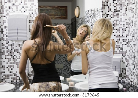 girls night out clipart. stock photo : girls night out: