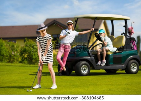 Kids golf academy