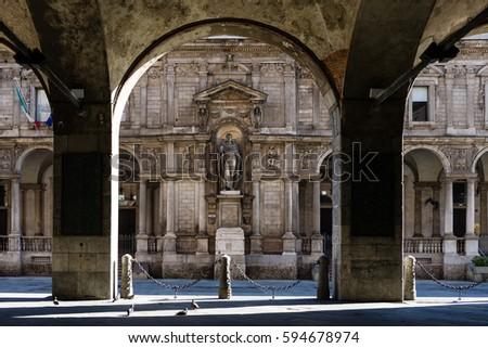 Giureconsulti Palace, Milan Italy #594678974