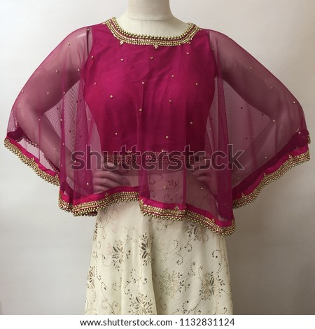 Give a trendy and modern twist to your saree ,a sure shot way to team up with this beautiful blouse