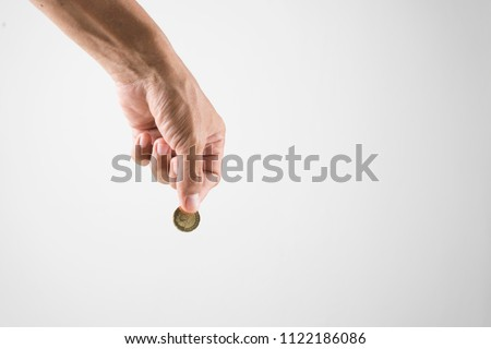 give charity image in white background