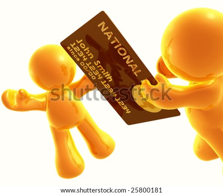 Giving gold credit card as gift