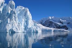 Glacier Antarctica