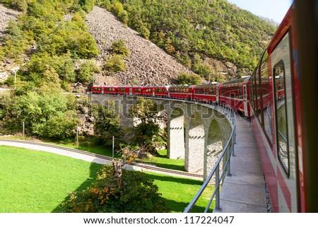 Glacier Express, Switzerland, UNESCO World Heritage Site