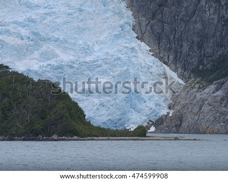 Glacier in