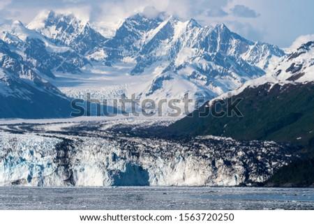 Glacier in Glacier Bay Alaska #1563720250