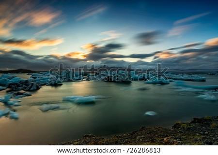 Glacier Lagoon, Jokulsaron, Iceland