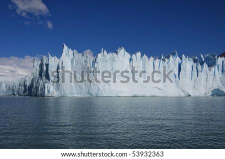 Glacier Moreno in Terra del Fuego Argentina
