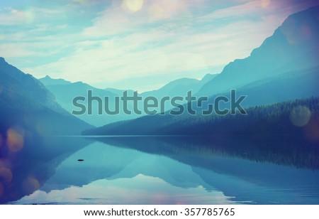 glacier national park  montana  ...