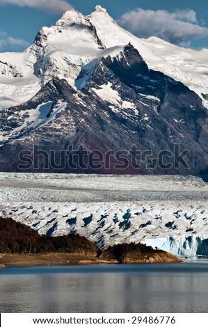 Glacier Perito Moreno - stock photo