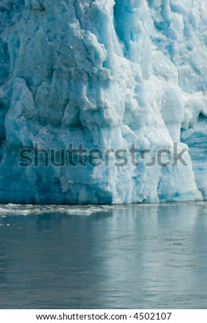 Glacier Water Blue Cold Ice Global Warming Series 17