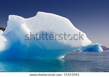 Glaciers and icebergs of Greenland 2