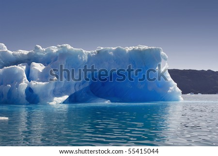 Glaciers and icebergs of Greenland 3