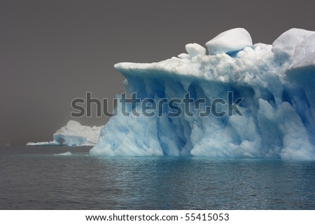 Glaciers and icebergs of Greenland 6