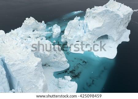Glaciers at Ilulissat #425098459