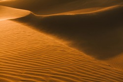 Glamis Sand Dunes photographed in California