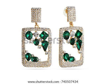 Glamour earrings #740507434