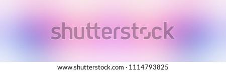 Glare white pink blue pattern web banner design. Romantic art ilustration. Delicate empty background. Fairytale style. Wonderful template. Gradient pale texture. New trend.