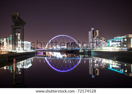 Glasgow Arc Bridge