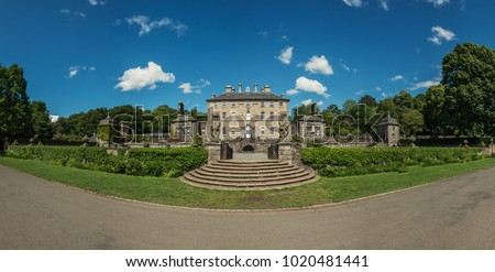 glasgow, pollok country park, country house #1020481441