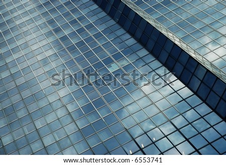 Glass and steel #6553741
